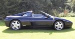 Ferrari 348 TS  Nero with Grey leather