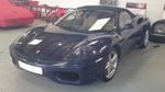 Ferrari 360 Spider 2002 F1 TDF Blue with Tan.