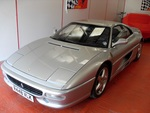 Ferrari 355 Berlinetta 30k Miles Uk RHD Car Argento / Nero