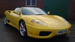 Ferrari 360 Spider F1 2002 Gallio Fly Yellow / Nero Carbon Seats