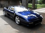 Ferrari 355 GTS Le Mans Blue with Crema Leather Uk RHD.