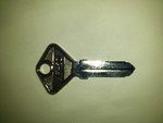 Ferrari 308 / 328 Door key Blank