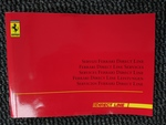 Ferrari 360 Direct line services booklet