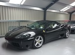 Ferrari 360 Spider Manual 2004 Nero / Crema 19k miles