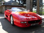 Ferrari 355 Spider Rosso Corsa with Nero only 32k Miles Uk car